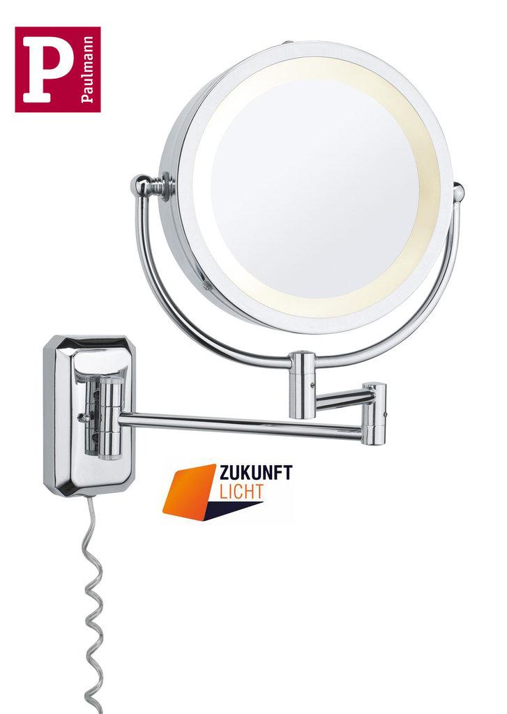 paulmann kosmetikspiegel bela ip44 zukunft licht. Black Bedroom Furniture Sets. Home Design Ideas