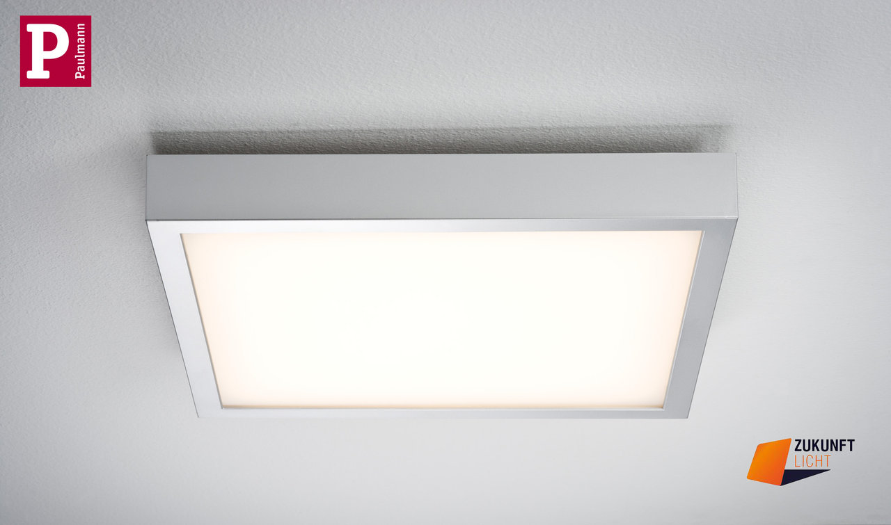 paulmann deckenleuchte space led in 3 varianten zukunft licht. Black Bedroom Furniture Sets. Home Design Ideas