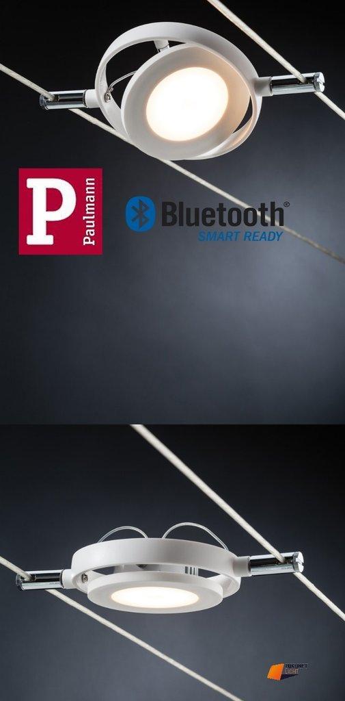 paulmann smart led seilsystem roundmac 4x4w bluetooth steuerbar licht 2700 6500k. Black Bedroom Furniture Sets. Home Design Ideas