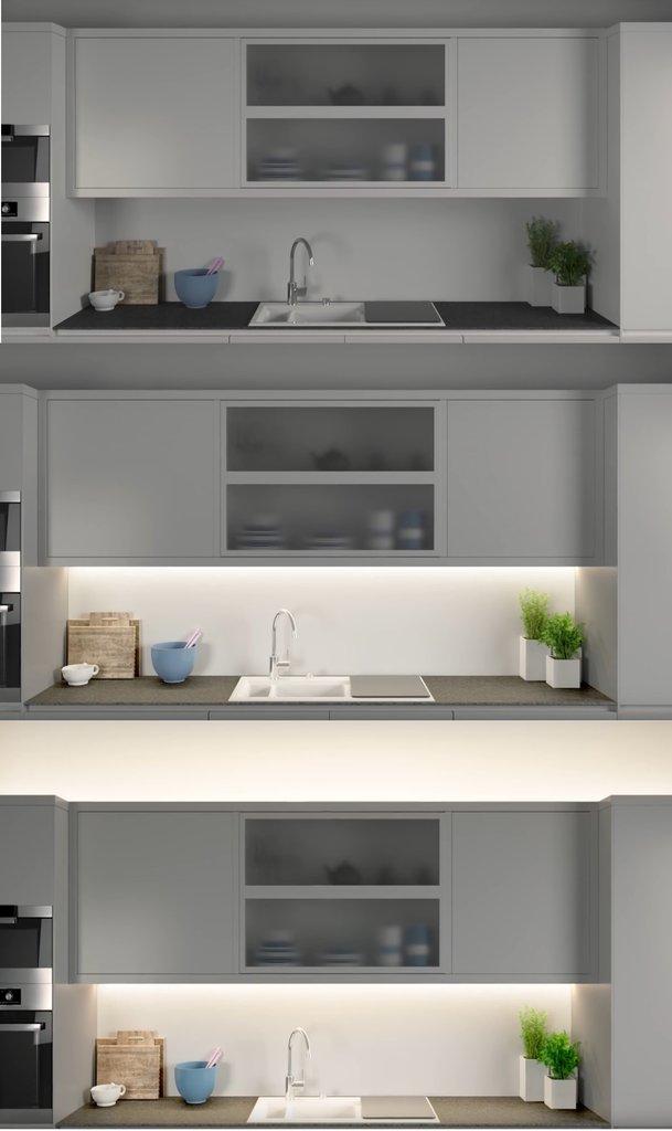 paulmann maxled stripe 500 basisset 5m 33w 2750l zur raumausleuchtung bis 10m. Black Bedroom Furniture Sets. Home Design Ideas