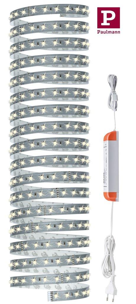 paulmann maxled stripe 500 basisset 5m 28w 6500k raumausleuchtung. Black Bedroom Furniture Sets. Home Design Ideas